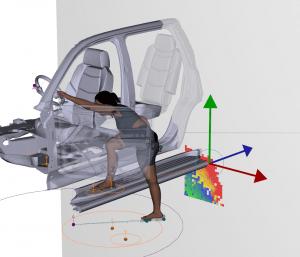 SantosHuman modeling software
