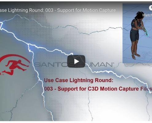 Santos Pro Motion Capture Support