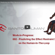 Santos Pro video restraint systems